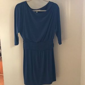 Evan-picone blue/teal cocktail dress